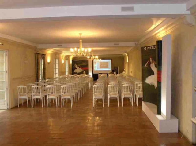 Seminar organized by Givenchy in the Château de Lantic